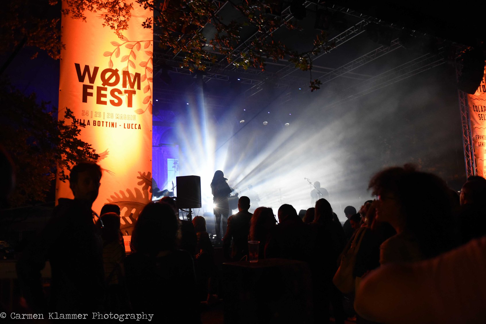 WØM FESTIVAL AT VILLA BOTTINI