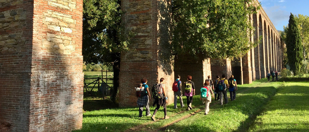 Nature walks – 2 day excursion on foot along the aqueducts from Lucca to Pisa