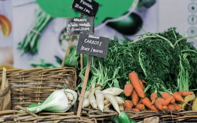 New! Organic Market every Wednesday afternoon