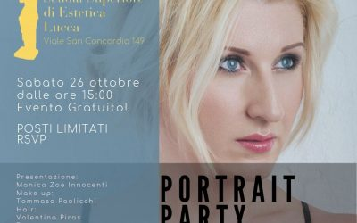 Portrait Party Pop Up Studio Next Event!